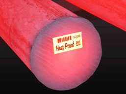 Heat Proof Lables Application